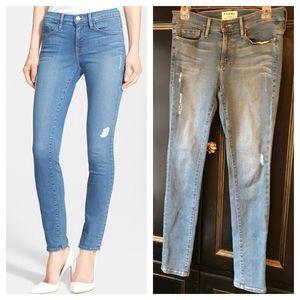 Frame Denim 'Le Skinny de Jeanne' high rise Jeans
